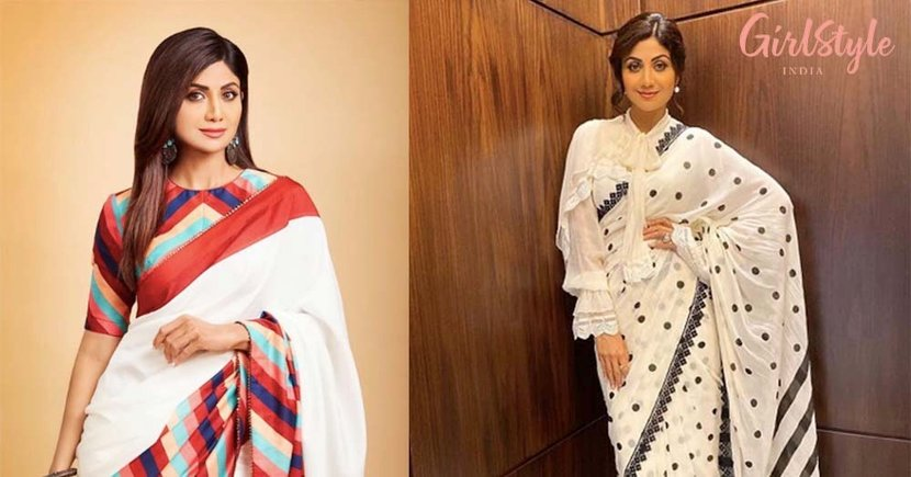 13 Saree Looks Of Shilpa Shetty Kundra That Will Surely Leave You INSPIRED