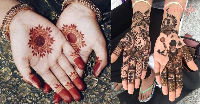 20 Beautiful Mehendi Designs To Try Out This Karva Chauth