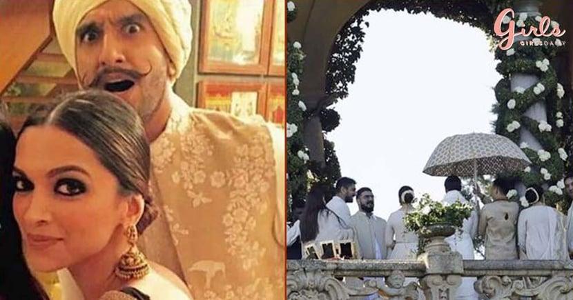First Pictures Of Deepika & Ranveer's Fairy Tale Wedding In Italy!