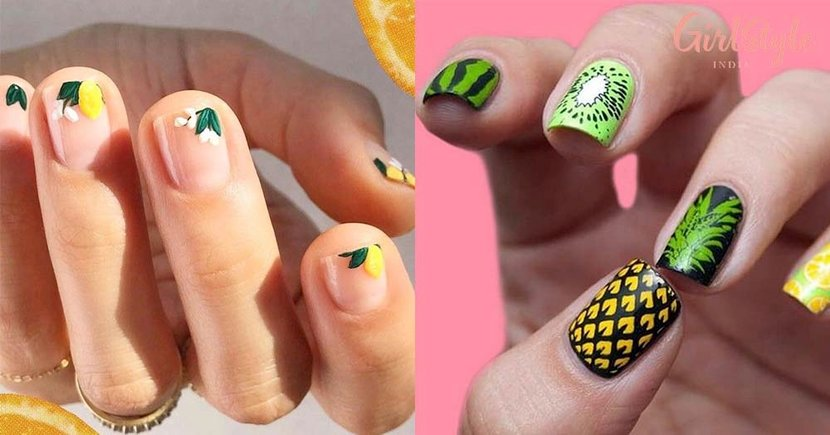 20 Cute & Juicy *Fruit Nail Art* Ideas To Help You Stay Healthy This Summer!