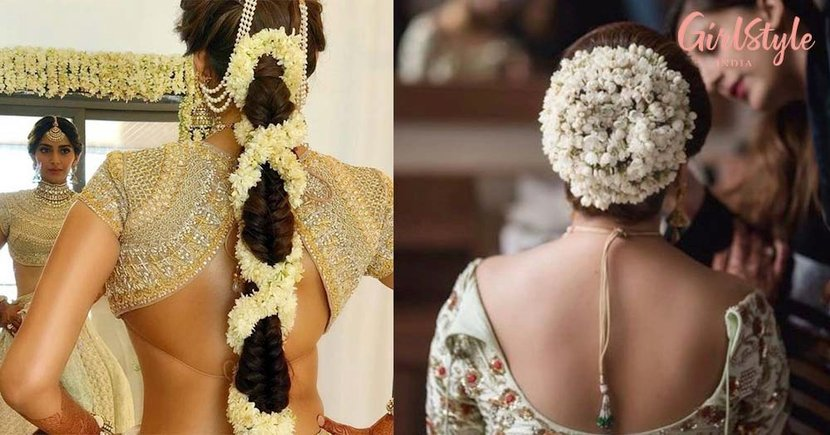 12 Gorgeous Hairstyles With *Gajra* For All The Brides To Be!