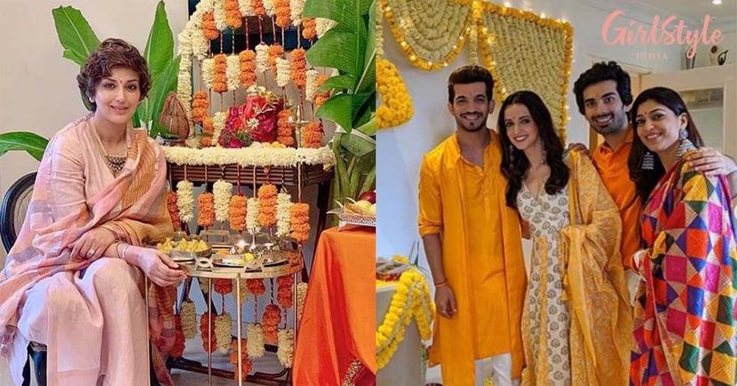 Ganesh Chaturthi: See Photos Of Bollywood & Television Stars Bring Bappa Home To Kick-Start The Ganpati Festivities