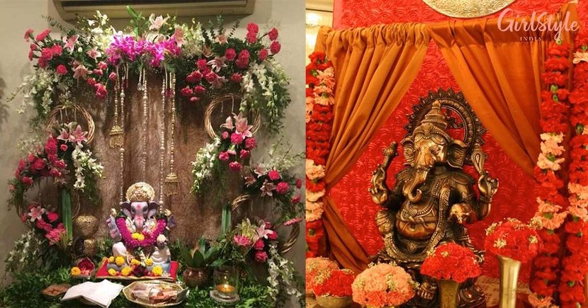 Jai Ganesh Deva Here Re 10 Beautiful Creative Ganpati Decoration Ideas Girlstyle India