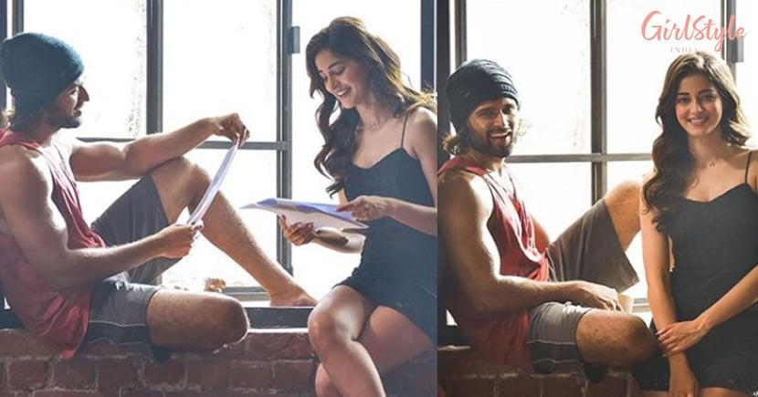 See Pics: Vijay Deverakonda All Set For Bollywood Debut, Ananya Panday Welcomes Him