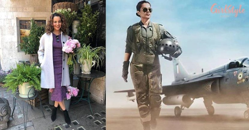 """Kangana Ranaut Receives Positive Response From Twitterati For Her Role In Upcoming Film """"Tejas"""""""