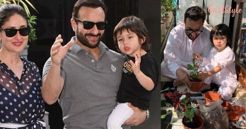 Taimur Ali Khan Gatecrashes Saif's Interview Giving Internet Its Most Adorable Moment, Watch