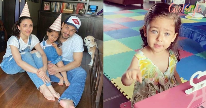 Little Miss Inaaya Khemu Sings Birthday Song For Papa Dearest Kunal Khemu While Playing Her Piano & It's Adorable