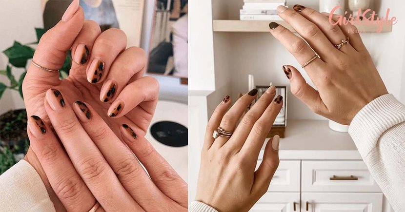 The Tortoiseshell Nail Trend is All Over Instagram & You Should Totally Try It Out At Home