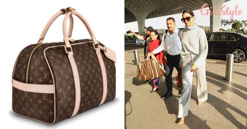 Deepika Padukone's Fashionable Louis Vuitton Travel Bag Comes With A Price Tag Of 1.3 Lacs