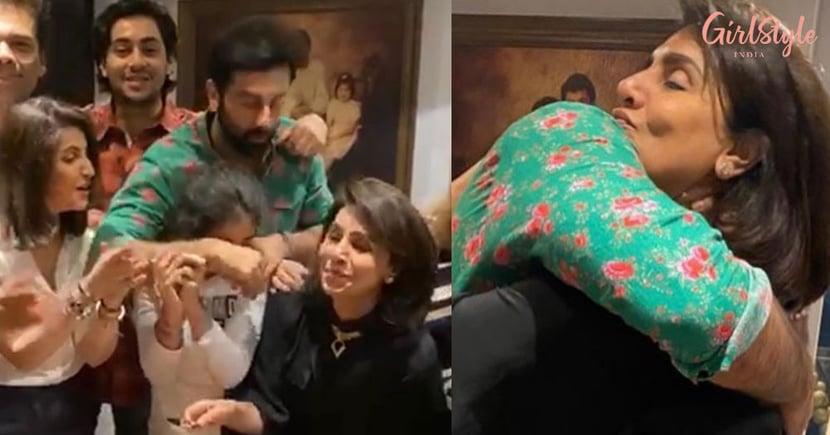 Hugs & Love: Ranbir Kapoor Celebrates Mom Neetu Kapoor's Birthday With His Squad