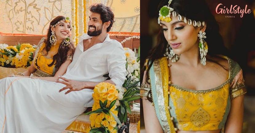 Rana Daggubati-Miheeka Bajaj's Wedding Festivities Begin, Haldi Ceremony Pics AreHere
