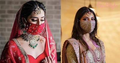 Forget Bridal Outfit, Wedding Face Masks Are The Hottest Trend This Season!