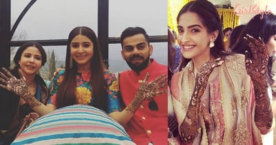 Mehendi Designs That You Can Copy From Celebrity Brides, Have A Look