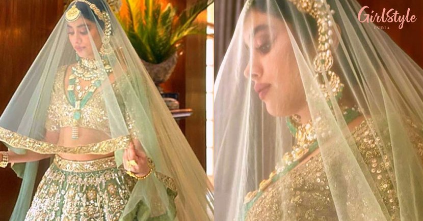 Can You Hear The Shehnai: Janhivi Kapoor Turns Manish Malhotra's Muse & We're Falling In Love