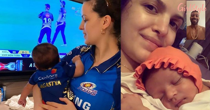Hardik Pandya Has The Cutest Cheerleader As His Son Agastya Watches His Match With Natasa