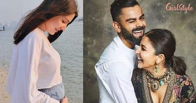 Anushka Sharma Shares A Picture Flaunting Her Baby Bump, Virat Kohli Says, 'My Whole World In One Frame'