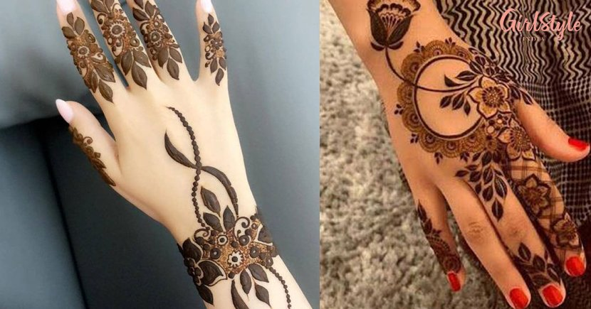 Arabic Mehendi Designs For Every Millennial Bride Out There