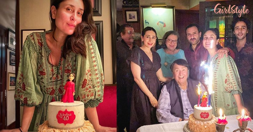 Fabulous At 40! Kareena Kapoor Khan Celebrates Birthday With Karisma, Saif & Family