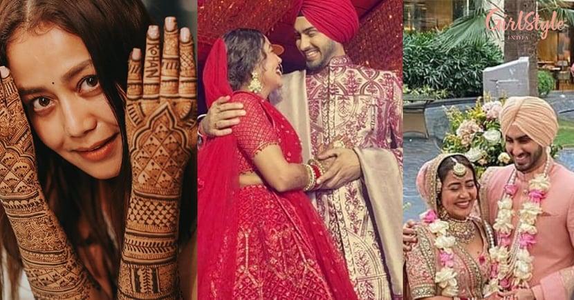 Shaadi Mubarak!Neha Kakkar Gets Married ToRohanpreet Singh With Band, Baaja, Baarat