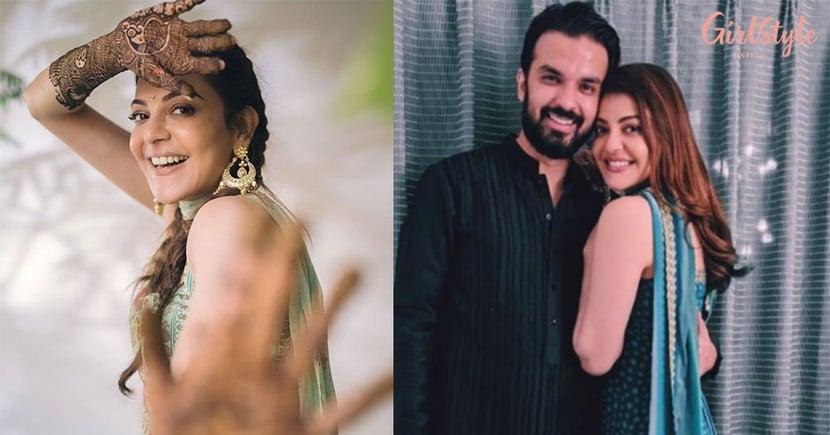 Kajal Aggarwal's Pre-Wedding Festivities Start,Bride-To-Be Looks Happy & Hearty