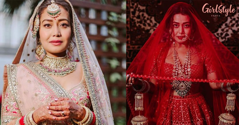 Shaadi Over, Trolling Start! Neha Kakkar Trolled For Copying Anushka & Priyanka's Wedding Outfits