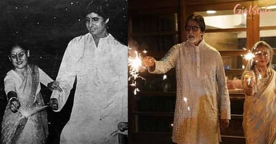 Amitabh Bachchan Gives Diwali Wishes By Sharing His Throwback Pic With Jaya Bachchan