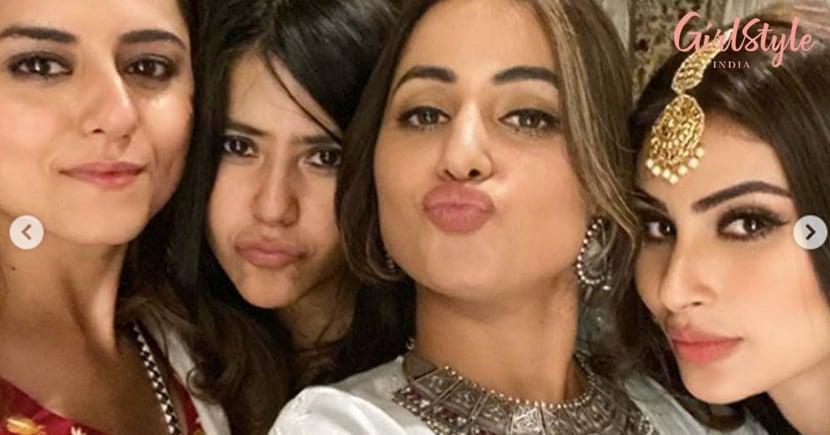 Television Celebrities Dazzle At Ekta Kapoor's Diwali Bash
