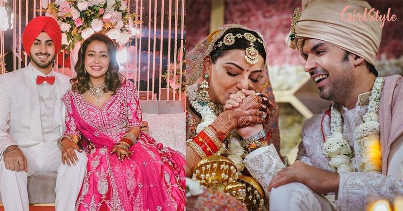 Neha Kakkar ToKajal Aggarwal, Celebs Who Will Be Celebrating Their First Karva Chauth