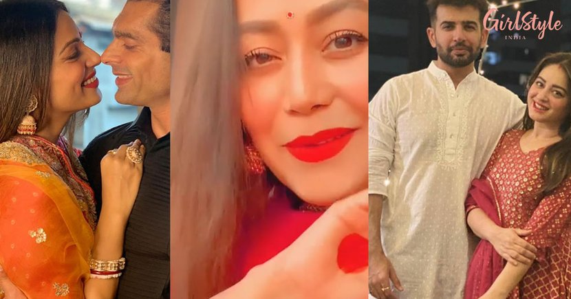 Bollywood & TV Celebs' Karva Chauth Was All About Love, Respect & Happiness