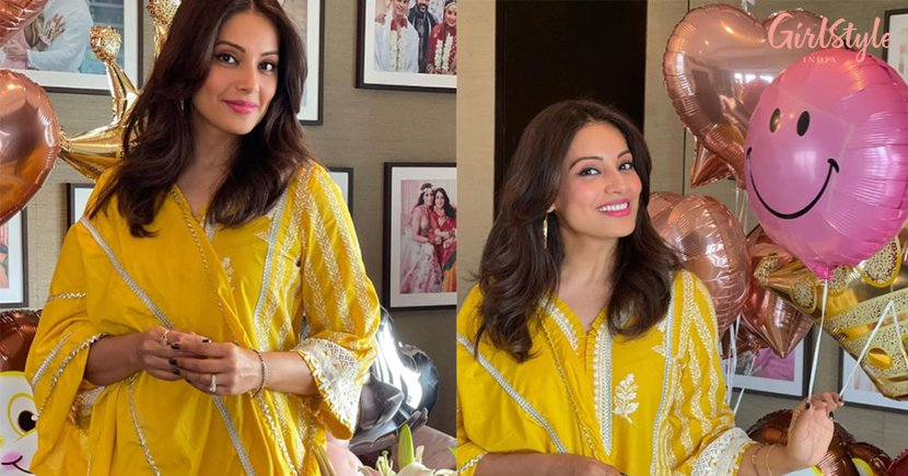 PICS: Bipasha Basu Celebrates Her Birthday With Balloons, Cake & Flowers