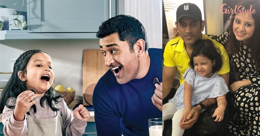 Ziva's First Ad With Daddy Cool Dhoni Is Sending The Internet Into A Meltdown