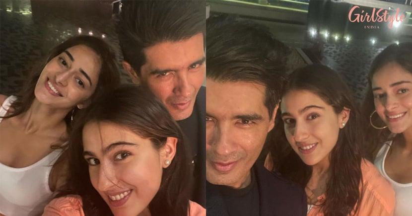 Karan Johar Hosts AHouse Party With Sara Ali Khan, Ananya Panday & Others, See Pics
