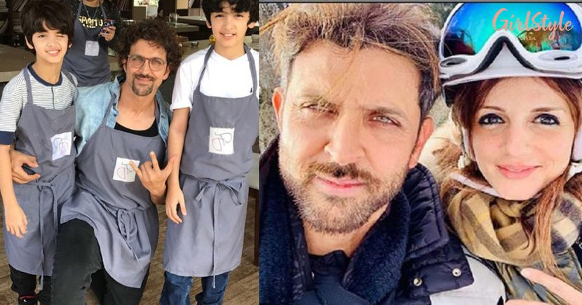 Hrithik Roshan's Birthday: Ex-wife Sussanne Shares A Heartwarming Post, See Pic