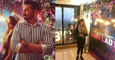 See Pics: Abhinav Shukla Plans A Romantic Surprise Party To Welcome Her *Boss Lady* Rubina Dilaik