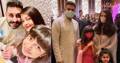 Aishwarya, Abhishek & Daughter Aaradhya Bachchan's Video Dancing On *Desi Girl* Will Surely Steal Your Heart