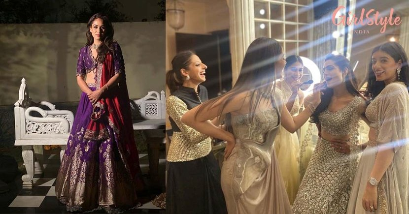 Dressed To Kill, Mira Rajput is Bridesmaid Goals in These Photos From Her Bestie's Wedding