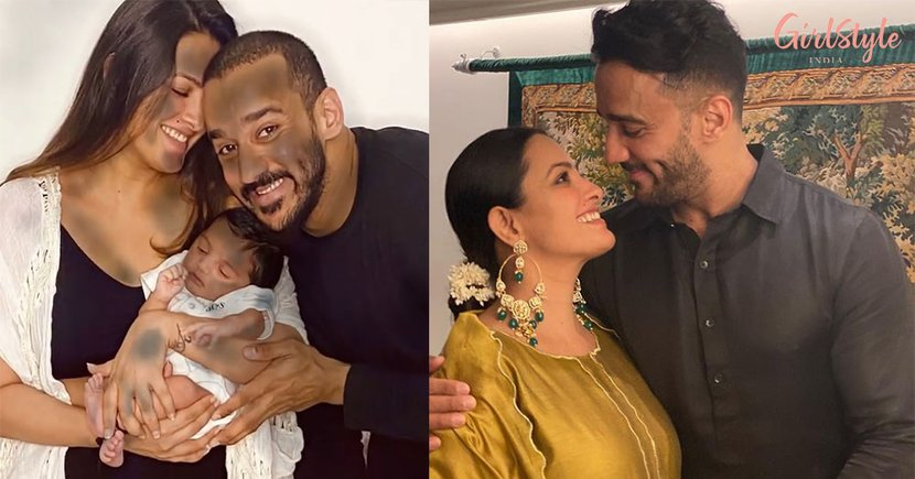 First Pic Out:Anita Hassanandani, Rohit Reddy Introduce Son Aarav & He Is Adorable