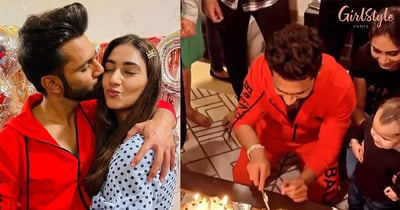 Rahul Shares Loved-Up Pics With Disha After Their *Pawri*