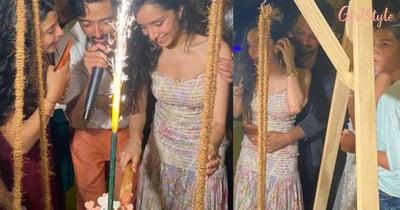 PICS: Shraddha Kapoor's Birthday Celebration With Rumoured BeauRohan Shrestha And Her Family In Maldives