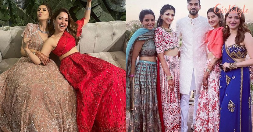 Tamannaah Bhatia Is The Prettiest Bridesmaid That We Have Seen