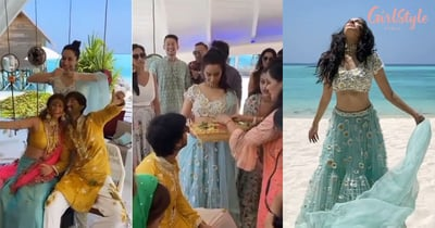 Shraddha Kapoor Performing Rituals At Her Cousin's Wedding In Maldives Is Every Sister Ever