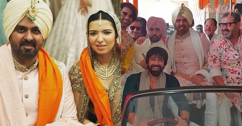What's Your Raashee Actor Harman Baweja Gets Married ToSasha Ramchandani, Raj Kundra Dances In Baraat