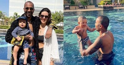 Hardik Pandya's SonAgastya Is Daddy's Boy & These Pics Are Proof