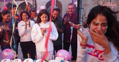Balloons, Cake & Fun: Janhvi Kapoor Celebrates Her 24th birthday, See Pics