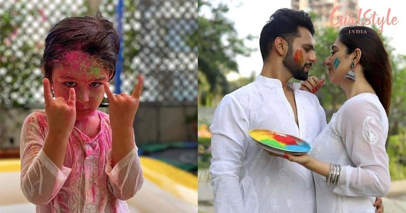 Simple & Intimate: This is How Celebs Kept The Spirit Of Holi Alive Amidst COVID-19