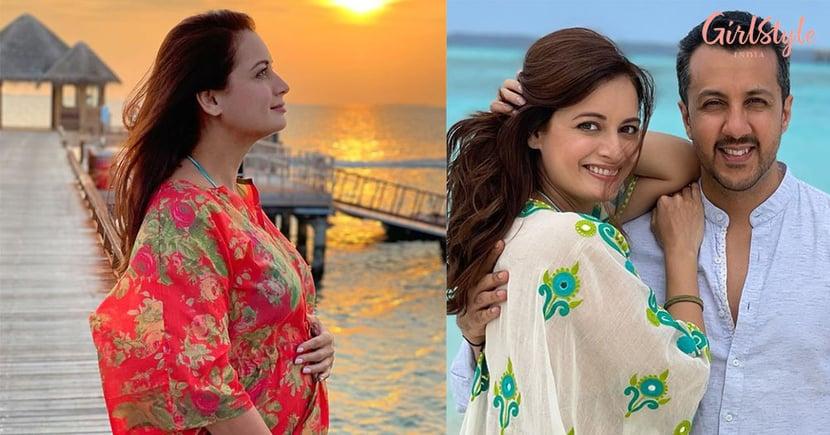 Congratulations: Dia Mirza Announces Pregnancy, Flaunts Baby Bump In Maldives