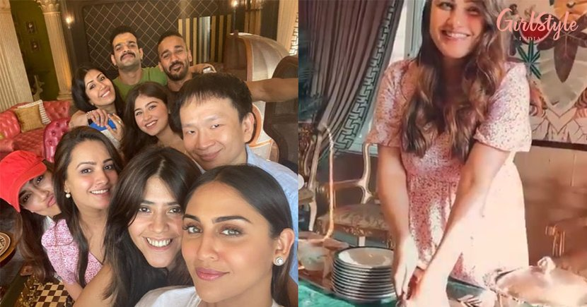 Anita Turns 40, Celebrates With Husband Rohit And Friends From The Industry, See Pics