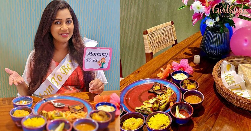 Singer Shreya Ghoshal Beams With Happiness As Her Friends Give Her ASurprise Baby Shower