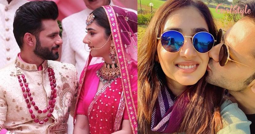 Rahul Vaidya-Disha Parmar As Groom And Bride Look Head Over Heels In Love