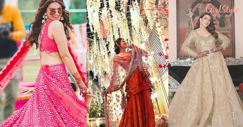 Actress Hansika Motwani Looks Happy & Excited At Her Bhai Ki Shaadi, See Pics